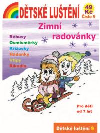 Dětské luštění 9 - Zimní...