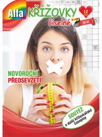 ALFA Křížovky číselné 12/2020